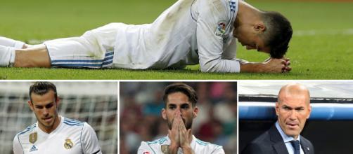 El Madrid entra en crisis, debido al bajón de nivel