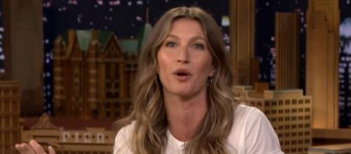 Gisele Bundchen congratulated the Eagles for their Super Bowl win (Image Credit: The Tonight Show Starring Jimmy Fallon/YouTube)