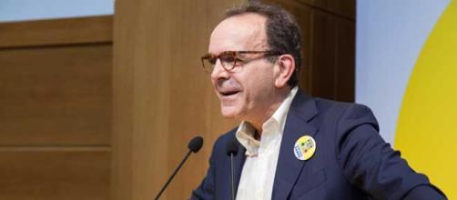 Il candidato governatore del Lazio per il Centrodestra, Stefano Parisi