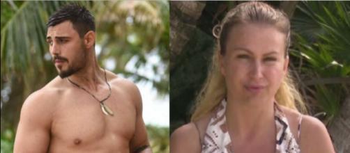 Isola dei Famosi: non ci sarà l'atteso confronto in puntata tra Francesco Monte ed Eva Henger.
