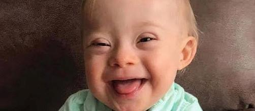 Meet Lucas, the first Gerber baby with Down syndrome [Image: Inside Edition/YouTube screenshot]