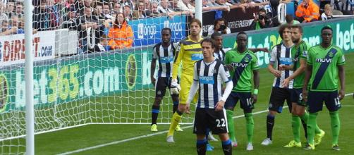 Newcastle to face man Utd this weekend. [Image via: Ardfern/Wikimedia Commons]