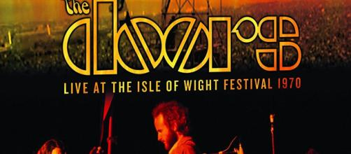 Portada del DVD, The doors, Live At The Isle Of Wight Festival 1970