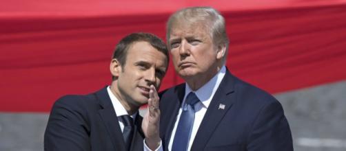 Trump recibirá a Macron en la primera visita de Estado de su ... - fyinews.tv