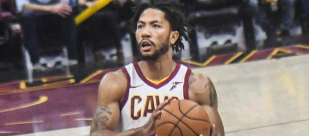 Derrick Rose will likely be bought out by the Jazz. Image Source: Flickr   Erik Drost
