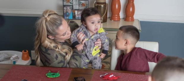 Kailyn Lowry is getting ready to debut a whole new show. [Image via Kailyn Lowry/Instagram]