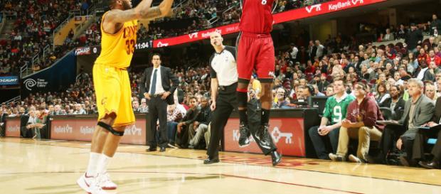 LeBron James vuelve a Cleveland con recital encestador - Diez ... - diez.hn