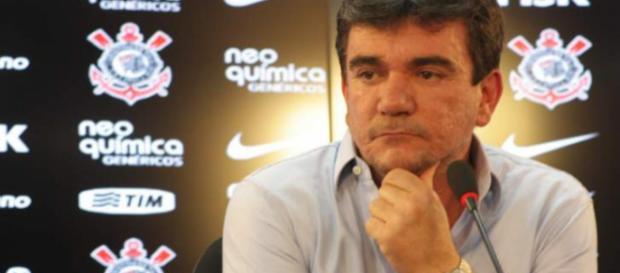 O atual presidente do Corinthians é Andrés Sanchez (Foto Reprodução).