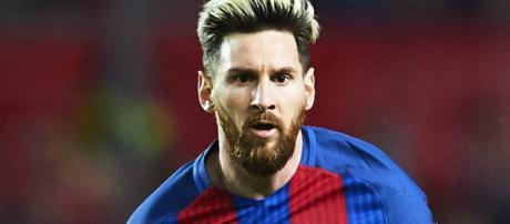 Lionel Andrés Messi Cuccittini, la estrella futbolística de Argentina.
