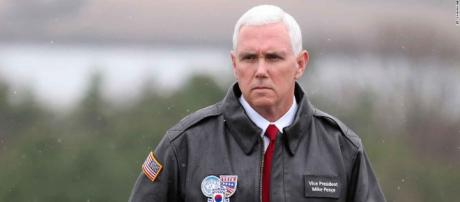 On North Korean border, Pence tells CNN US will drop 'failed ... - cnn.com