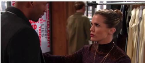 Chelsea's past comes back to haunt her on 'Y&R.' - [Image via Entertainment News / YouTube Screencap]