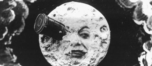 """Filme 'Viagem à Lua"""" de George Méliès. (Foto Reprodução)."""