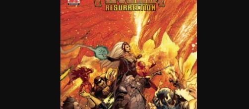 Jean Gray está más poderosa que nunca y va aportando mucho a los X-Men