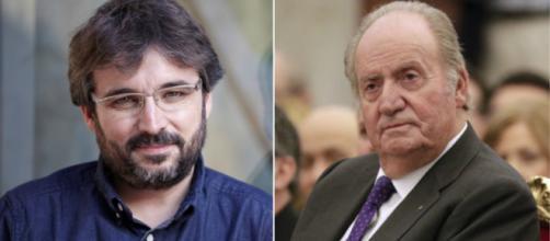 Jordi Évole y Juan Carlos I en imagen