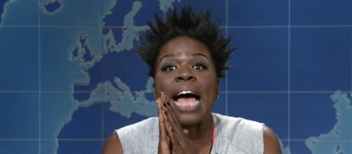 Leslie Jones continues to deal with racist attitudes. (Image via Saturday Night Live/YouTube screenshot).