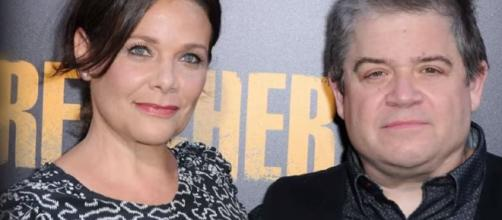 Patton Oswalt Is Married to Meredith Salenger! | Martha Stewart - Image credit AP via Wochit Entertainment | YouTube