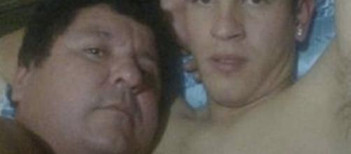 Se publicaron las imágenes de él y Bernardo Gabriel Caballero