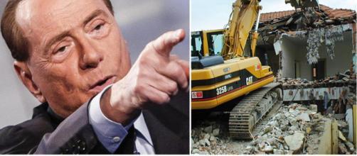 Silvio Berlusconi - condono edilizio - casa di necessità