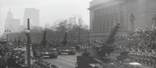 U.S. WWII Victory Parade - New York - 1946- (Image Cr: TheNewCavalier- YouTube )