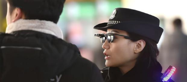 China introduces facial recognition sunglasses to catch criminals [Image credit: TRT World/YouTube]