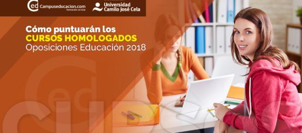 Cómo puntúan los Cursos Homologados en las Oposiciones 2018 - campuseducacion.com