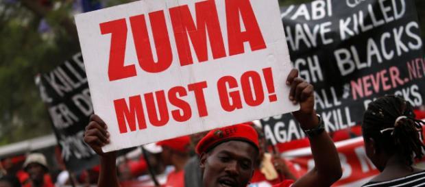 L'Afrique du Sud a demandé le départ de Zuma, c'est fait