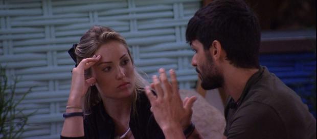 Lucas e Jéssica enfrentam um dilema no ''BBB18''