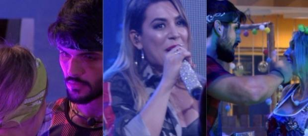 Nayara Azevedo criticou Lucas durante participação em festa do ''BBB 18''