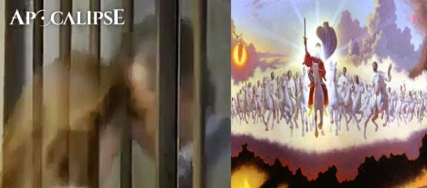 Oswaldo e a esposa Letícia sumiram dentro da prisão na novela 'Apocalipse'