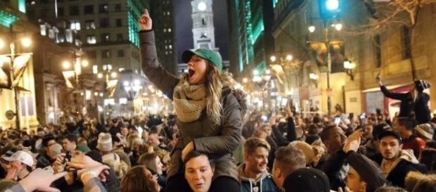 Philly fans will be celebrating all week long. [Image via FOXNews/YouTube]