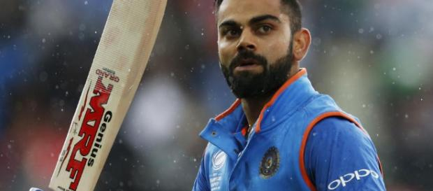 Virat Kohli led witha 160 not out as India won. (Image credit: ESPN sport- Youtube screencap)