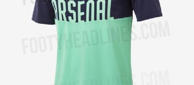 The leaked photos of Arsenal's new third kit reveal its garish colour
