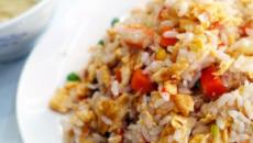 Super simple Chinese style fried rice recipe