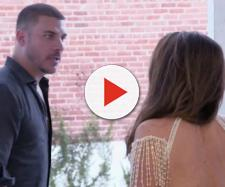 Jax Taylor is seen arriving late to Lisa Vanderpump's event. [Photo via Bravo/YouTube]