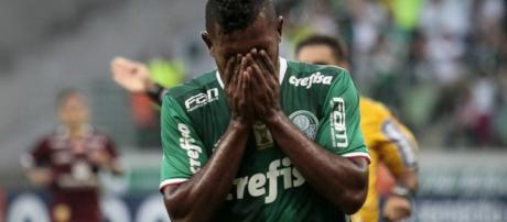 Miguel Borja é o atual centroavante da equipe. (Foto Reprodução).