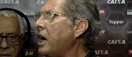 Oswaldo se irritou durante sua última entrevista