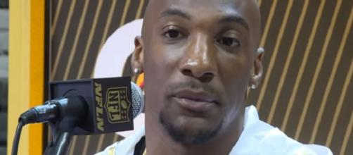Aqib Talib is reportedly on the trading block this offseason (Image Credit: NESN/YouTube)