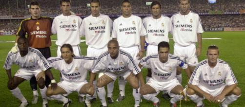 El once del Real Madrid en la era de Los Galacticos