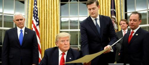 Escándalo en la Casa Blanca. Rob Porter acusado de abuso doméstico