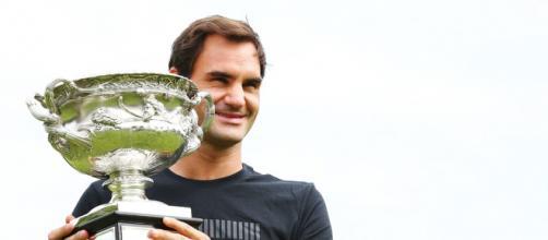 Fotos: Roger Federer y el título de Australia - Tenis Web - tenisweb.com