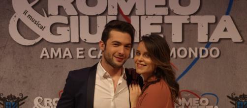 Giulia Luzi e Davide Merlini interpretano Giulietta e Romeo