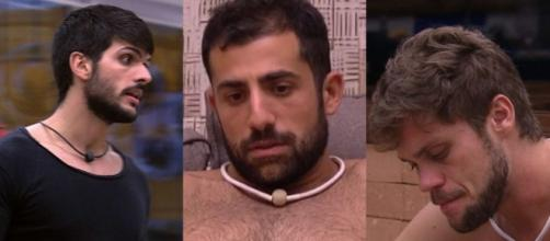 Kaysar é detonado por brothers. (Foto internet)