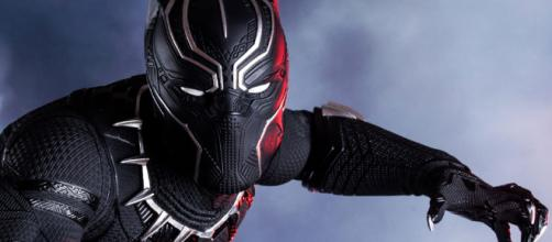 Marvel Black Panther Polystone Statue by Iron Studios | Sideshow ... - sideshowtoy.com