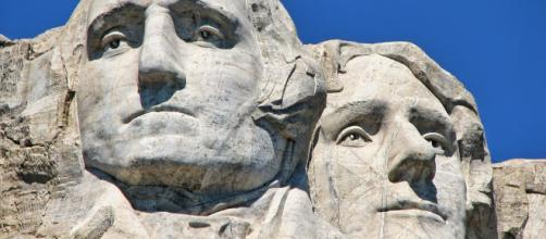 Mount Rushmore project. - [by Gutzon Borglum flickr.com]