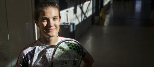 Samantha Cornett, la jugadora No. 1 de Canadá, está lista para abrazar cada minuto