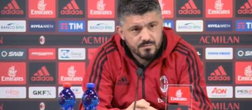 Ultime notizie Milan, Gattuso chiamato ad una scelta