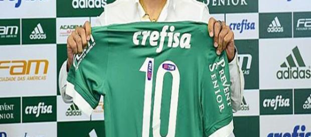 A camisa 10 do Verdão pode ficar com o jogador