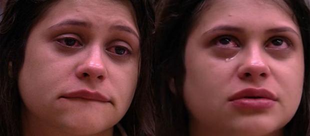 Ana Paula caiu no choro (Foto: Reprodução)