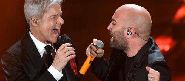 Claudio Baglioni e Giuliano Sangiorgi
