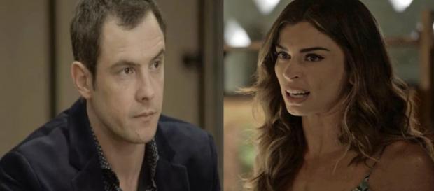 Gael e Lívia armam para Sophia. (Divulgação/TV Globo)
